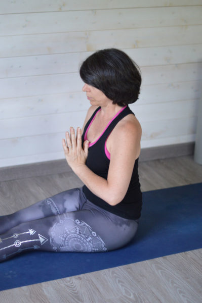 My little yoga studio & trying out yoga music for the first time